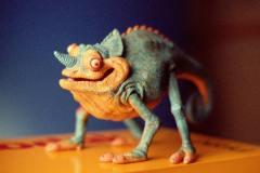 Kodak 'Chameleon' 1985 - Puppeteer Ron Mueck